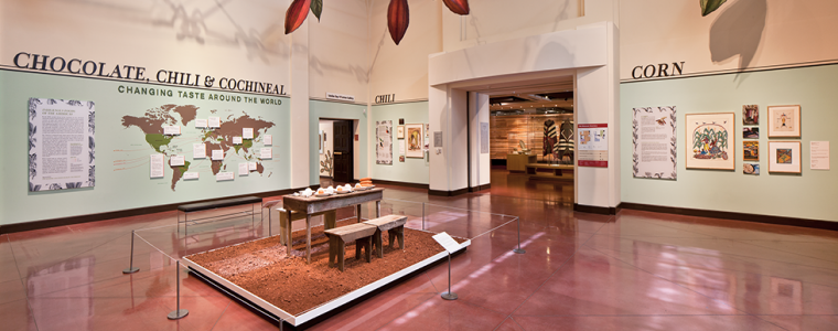 "Gallery view of ""Chocolate, Chili, and Cochineal: Changing Taste Around the World"""