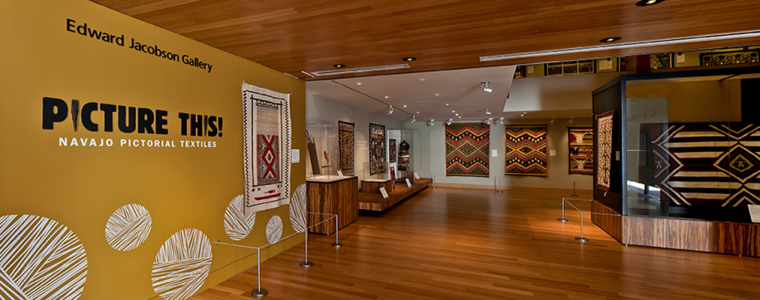 """Gallery view of """"Picture This! Navajo Pictorial Textiles"""""""