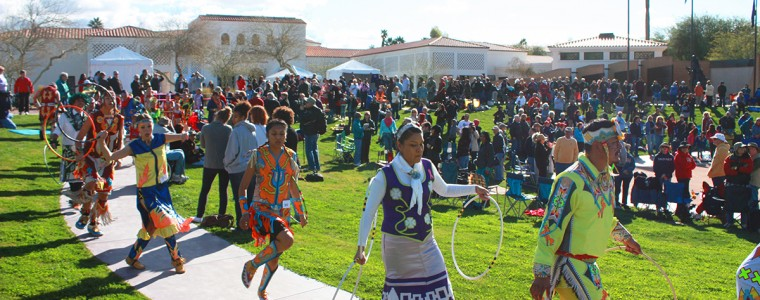 Grand Entry during 23rd Annual Hoop Dance Contest