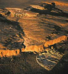 Screen capture from The Mystery of Chaco Canyon