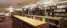 Inside the Heard Museum Billie Jane Baguley Library and Archives.