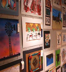 Dozens of examples of artworks from American Indian students in grades 7-12 will be offered for sale at the Heard Museum Guild American Indian Student Art Show and Sale, March 28-30, 2015.