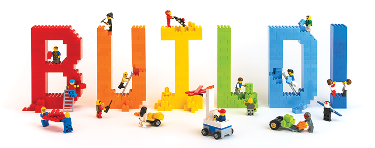 build toy brick art at the heard heard museum