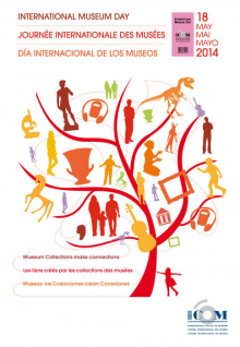 Poster for 2014 International Museum Day
