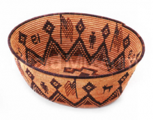 Western Apache pictorial basket