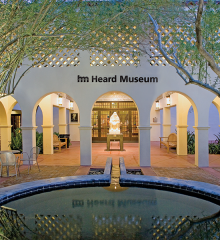 Entrance to the Heard Museum