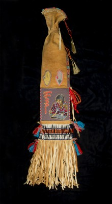 Photograph of beaded bag