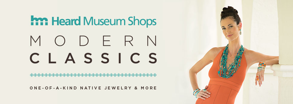 Shops Modern Classics at the Heard Museum Shops: One-Of-A-Kind Jewelry and More