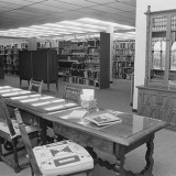 Image of interior of Heard Museum Library. Not dated, probably 1970s or 1980s. RC76(L52):5