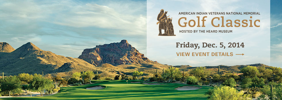 American Indian Veterans National Memorial Golf Classic on Friday, Dec. 5, 2014. Click here to view event details.