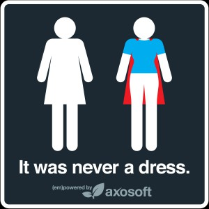 Tania Katan created the campaign #ItWasNeverADress that was an Internet sensation earlier in 2015. Courtesy Tania Katan