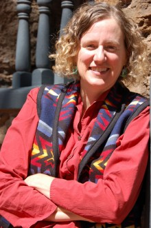 Kelley Hays-Gilpin, professor of anthropology and archaeology at Northern Arizona University, speaks to the Heard Museum Guild March 16.