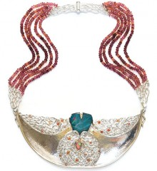 Photograph of the Breath of Life Gorget.