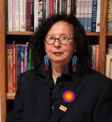 Jaune Quick-To-See-Smith (member of the Confederated Salish and Kootenai Tribes of the Flathead Indian Nation), artist, curator and political activist is one of the scheduled speakers