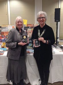 Diana Pardue and Kathleen Howard, co-authors of Fred Harvey book