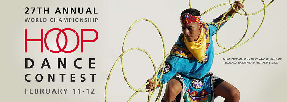 Heard Museum annual World Championship Hoop Dance Contest