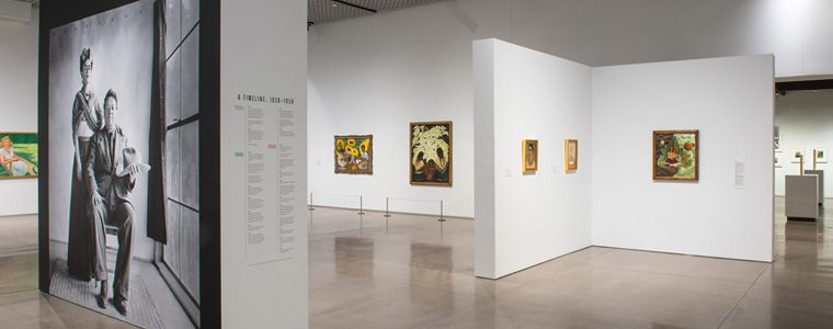 Exhibition Frida Kahlo and DIego Rivera special members events, extended hours and members lounge for first friday