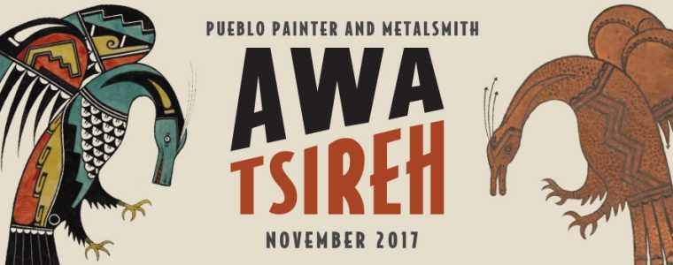 Awa Tsireh Exhibition Adoption opportunity. Click the banner link to learn about adopting an animal art object for the duration of the exhibition.