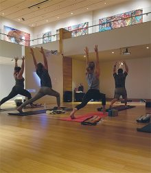 Museum Yoga at the Heard Museum