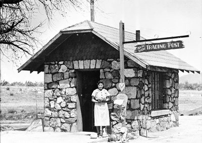 Wa-Pai-Shone Trading Post, 1936, at Stewart Indian School. Stewart Indian School Cultural Center and Museum, Carson City, Nevada