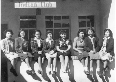 Indian Club, late 1930s. Santa Fe Indian School. Library and Archives, Santa Fe, New Mexico.