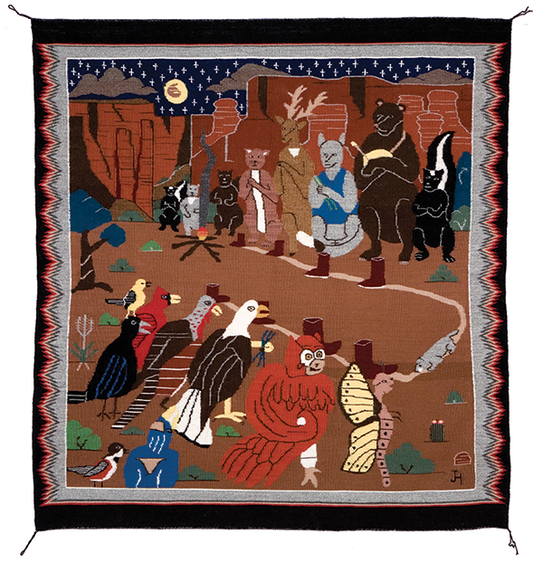 Picture This Navajo Pictorial Textiles Heard Museum