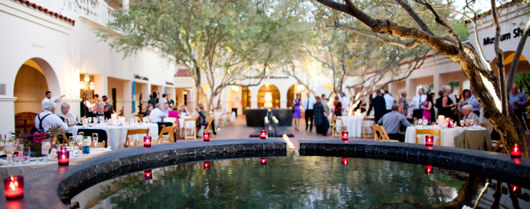 Wedding in Central Courtyard