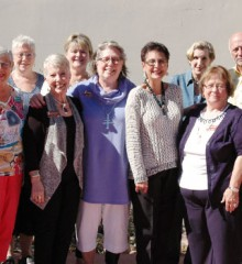Photograph of the Heard Museum Guild Board of Directors for 2015
