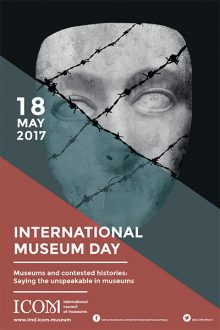 International poster graphic for International Museum Day 2017