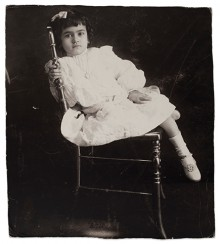 Frida at the age of 5, Anonymous, 1912. Copyright Frida Kahlo Museum