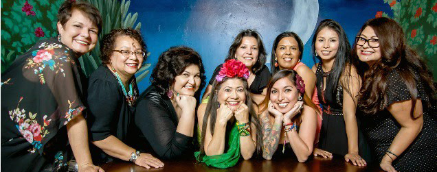 Photograph of the members of the Phoenix Fridas