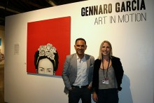 Gennaro Garcia and Hannah Vandeventer at MonOrchid in Phoenix, AZ, September 19, 2015