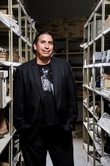 Manuelito Wheeler Jr., director of the Navajo Nation Museum, speaks at the Heard Museum 7 p.m. March 24.