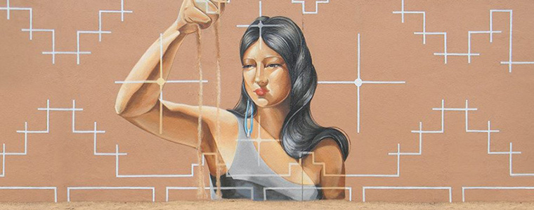 Mural aby Nanibah Chacon
