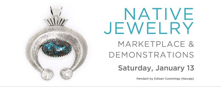Native Jeweler's Market, Heard Museum. Jan. 13, 2018