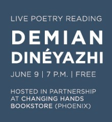 Poetry Reading with Demian Dineyahzi