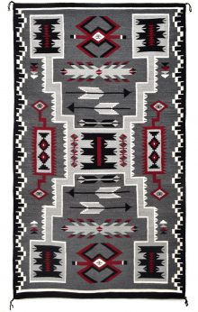 Storm Pattern Rug By Susie Mike