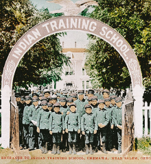 Chemawa, OR Boarding School