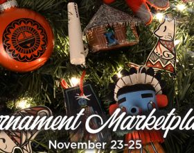 Ornament Market at the Heard Museum is always Friday after Thanksgiving