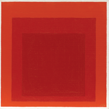Josef Albers, Homage to the Square, 1969. Solomon R. Guggenheim Foundation, New York, Gift, The Josef Albers Foundation, Inc. 1991. © 2019 The Josef and Anni Albers Foundation