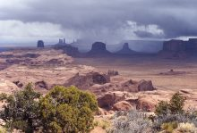 Color photo image of Monument Valley by Barry Goldwater