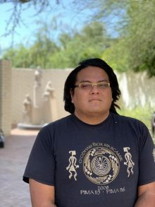 August Wood (Salt River Pima-Maricopa Indian Community)