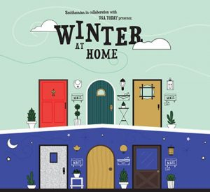 Cover of the Winter at Home activity book from the Smithsonian Museum