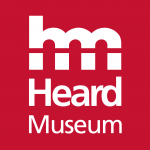 red box with white text which says Heard Museum