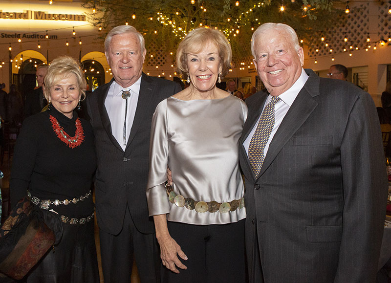 Penny and Larry Gunning, Patti and Fred Lau